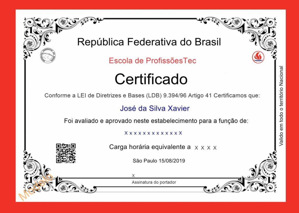 Certificado de Competência